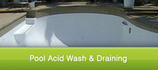 Pool Acid Wash & Draining